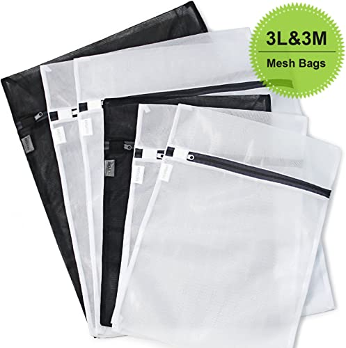 6-Pack Delicates Mesh Laundry Bags