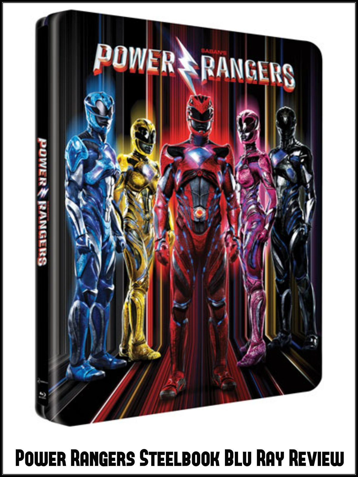 Review: Power Rangers Steelbook Blu Ray Review