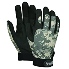 Memphis C900WWM General Purpose Multi-Task Glove, Digital Camo, Size Medium