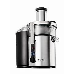 Breville BJE510XL Juice Fountain Multi-Speed 900-Watt Juicer