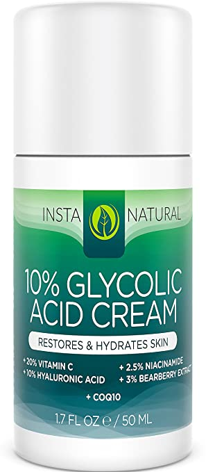 InstaNatural Glycolic Acid Cream Reviews