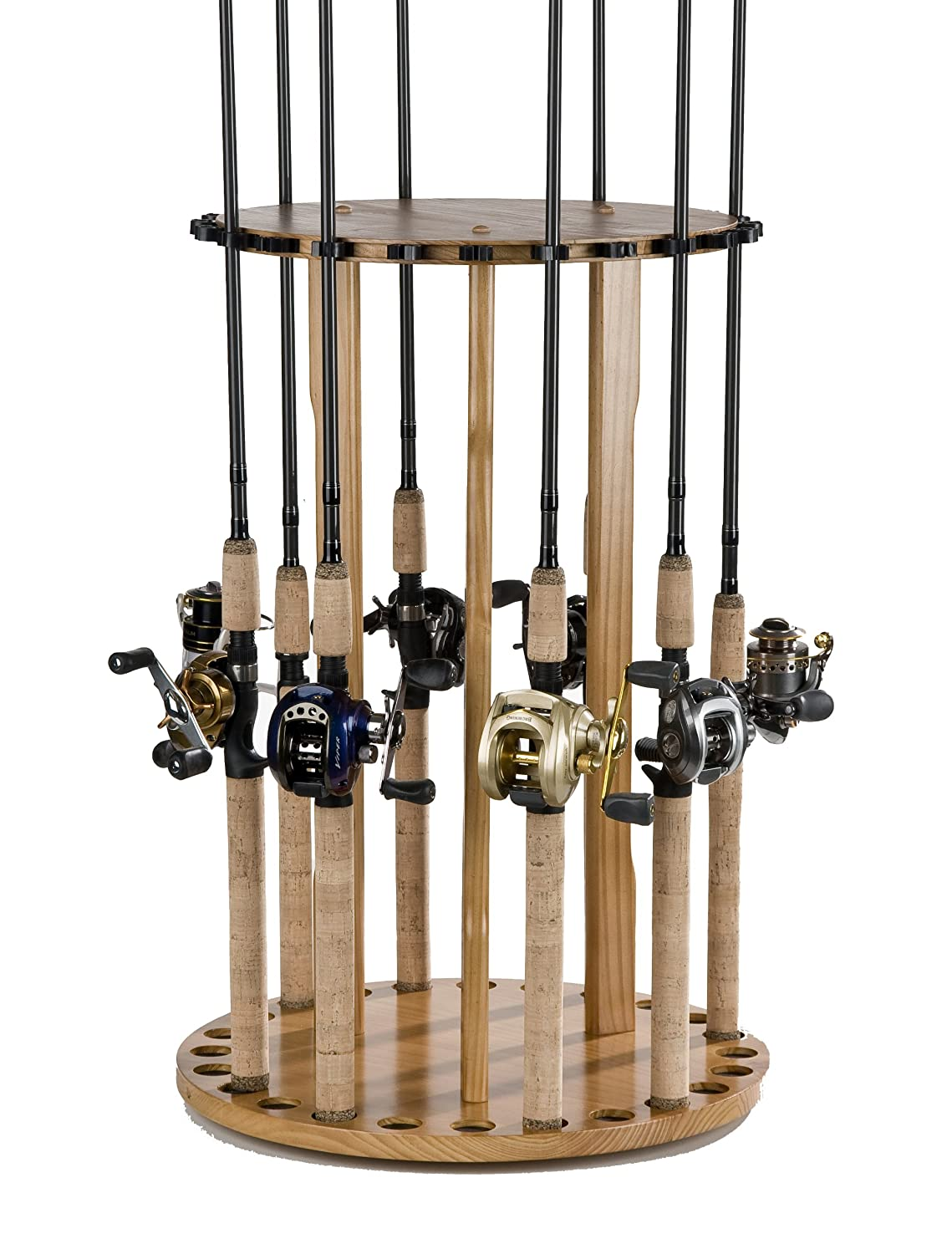 Rod racks and rod holders for your sports for Fishing rod rack