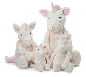 Jellycat Bashful Unicorn Stuffed Animal, Huge, 21 inches (Tamaño: Huge - 21)