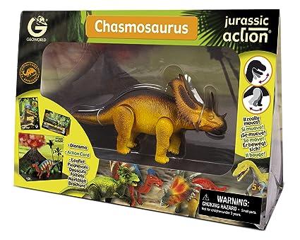 Geoworld - CL236K - Figurine - Jurassic Action - Chasmosaurus - 24 cm