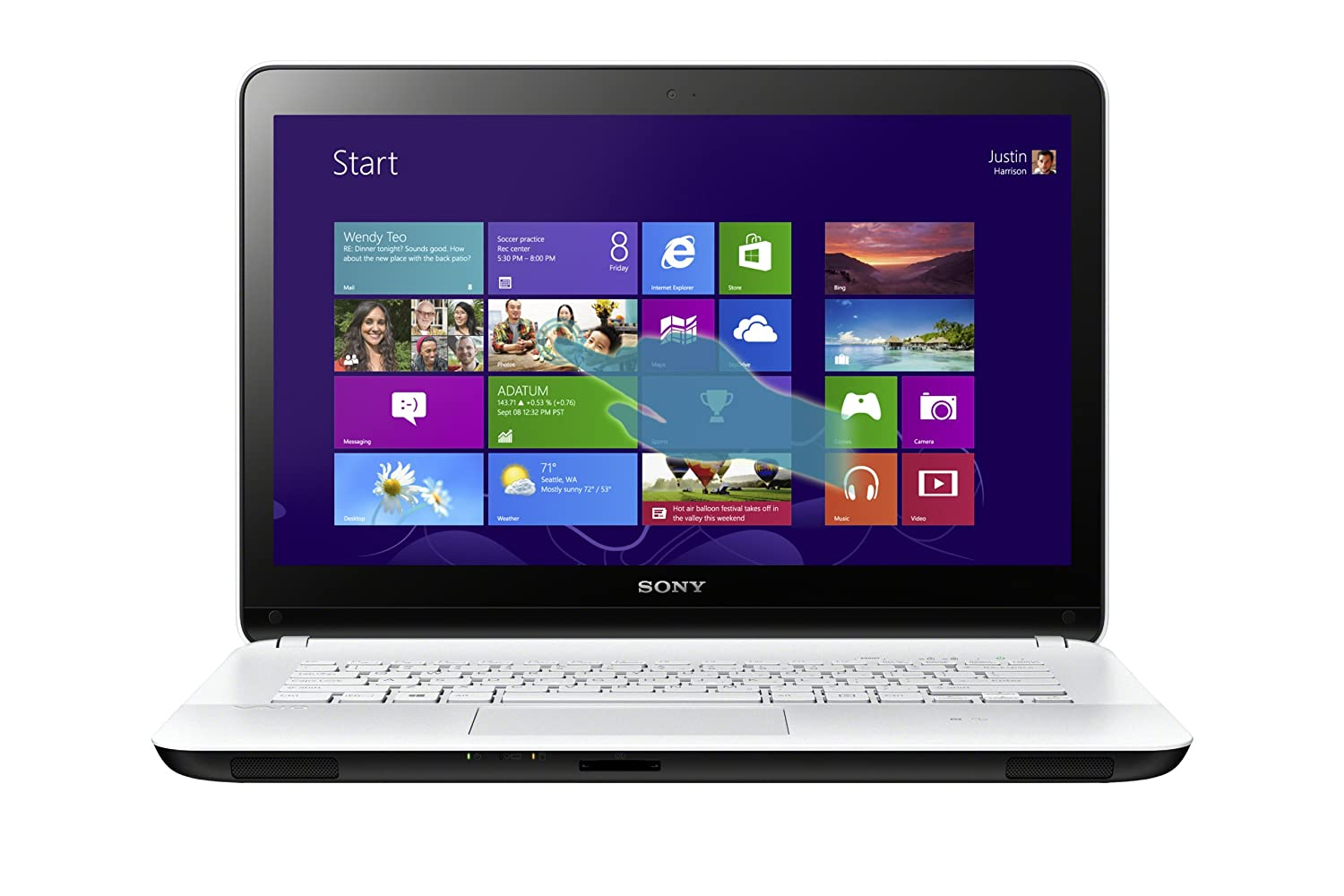Sony VAIO SVF1432ACXW 14-Inch Touchscreen i7 Laptop