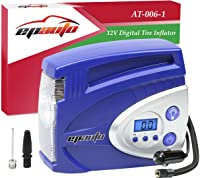 EPAuto 12V DC Auto Digital Tire Inflator Car