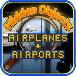 Hidden Objects - Airplanes and Airports & Object Time Puzzle Games