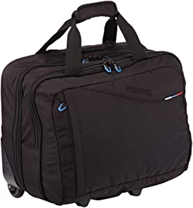 American Tourister At Business III Rolling Tote, Bagage - Noir   Commentaires en ligne plus informations