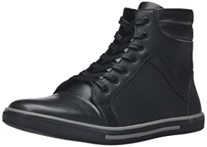 Kenneth Cole Unlisted Men's Crown Worthy Fashion Sneaker, Black, 11 M US