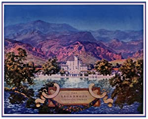 Broadmoor Hotel by Maxfield Parrish