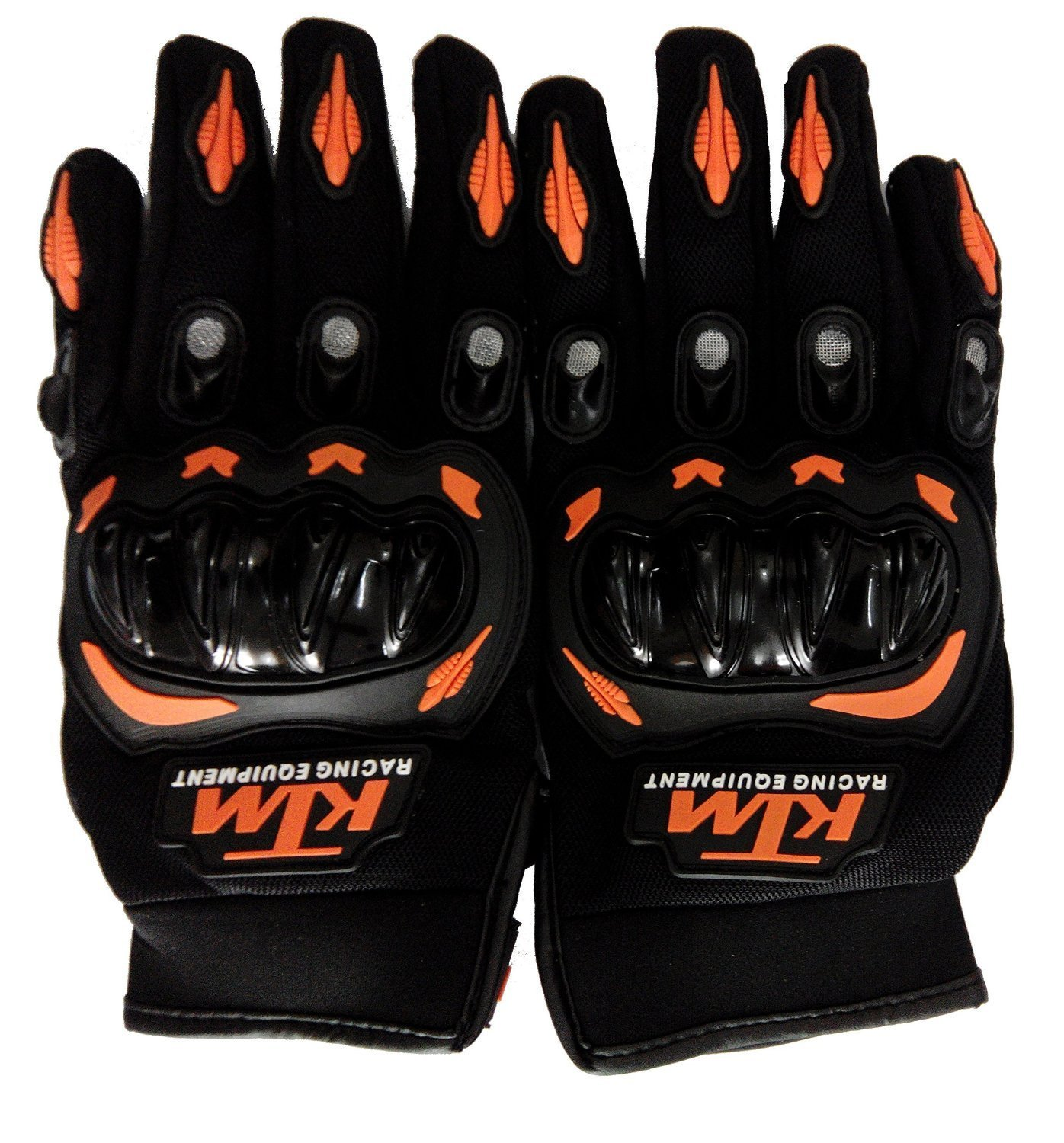 Motorcycle leather gloves india - Leebo Ktm Gloves Orange With Black Colour Xl Size Bike Riders Gloves Motosports Gloves Motorcycle Riding