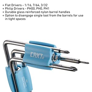 Twist And Fix Screwdriver Set (Color: Screwdriver, Tamaño: One Size)