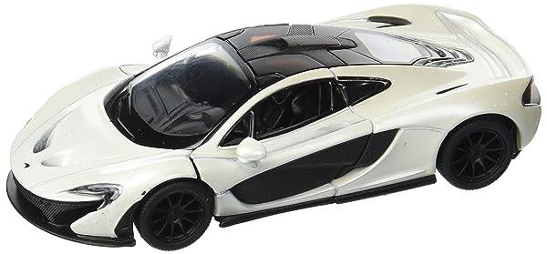 Kinsmart McLaren P1, White 5393D - 1/36 Scale Diecast Model Toy Car (Color: White)