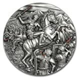 2017 PL Niue 2 oz Silver Great Commanders (Spartacus, Slave Revolt) Silver Brilliant Uncirculated