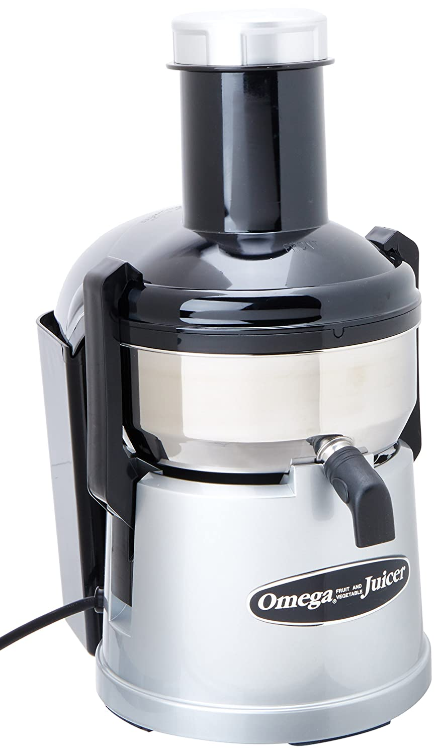 Omega BMJ330 Commercial 350-Watt Stainless-Steel Pulp-Ejection Juicer