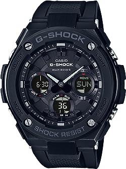 G-SHOCK(ジーショック) [カシオ] 腕時計 ジーショック G-STEEL 電波ソーラー GST-W100G-1BJF ブラック