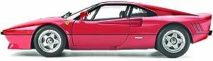 Tamiya Ferrari 288 GTO Model Car 1/12 Red (Color: Red)
