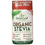 SweetLeaf Organic Stevia Sweetener, 3.2 Ounce (Tamaño: 3.2 Ounce)