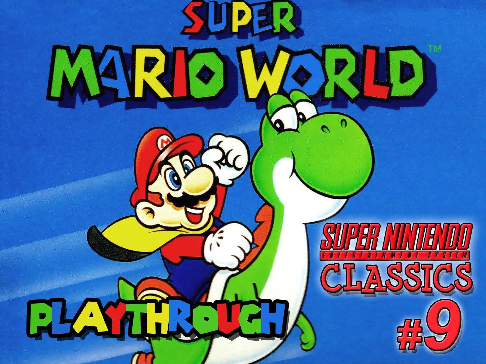 Clip: Super Mario World Playthrough (SNES Classics 9) - Season 1