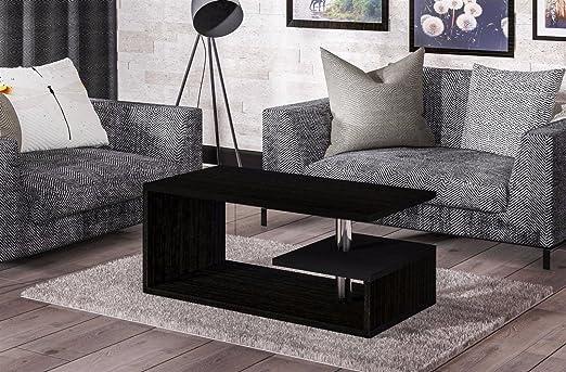 Endo Couchtisch Mio Wohnzimmertisch 100x55cm Modern Tisch Ablage 100cm Design // Wenge