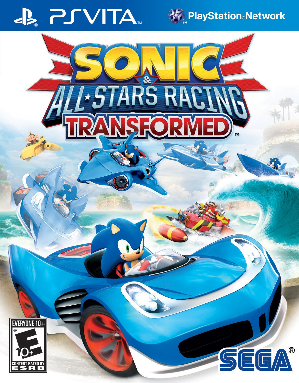 sonic and all-stars racing - playstation vita