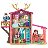 Enchantimals Cozy Deer House Playset (Color: Multicolor, Tamaño: Standard)