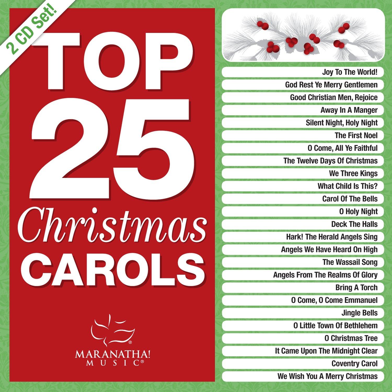 Top 25 Christmas Carols [2 CD] CD