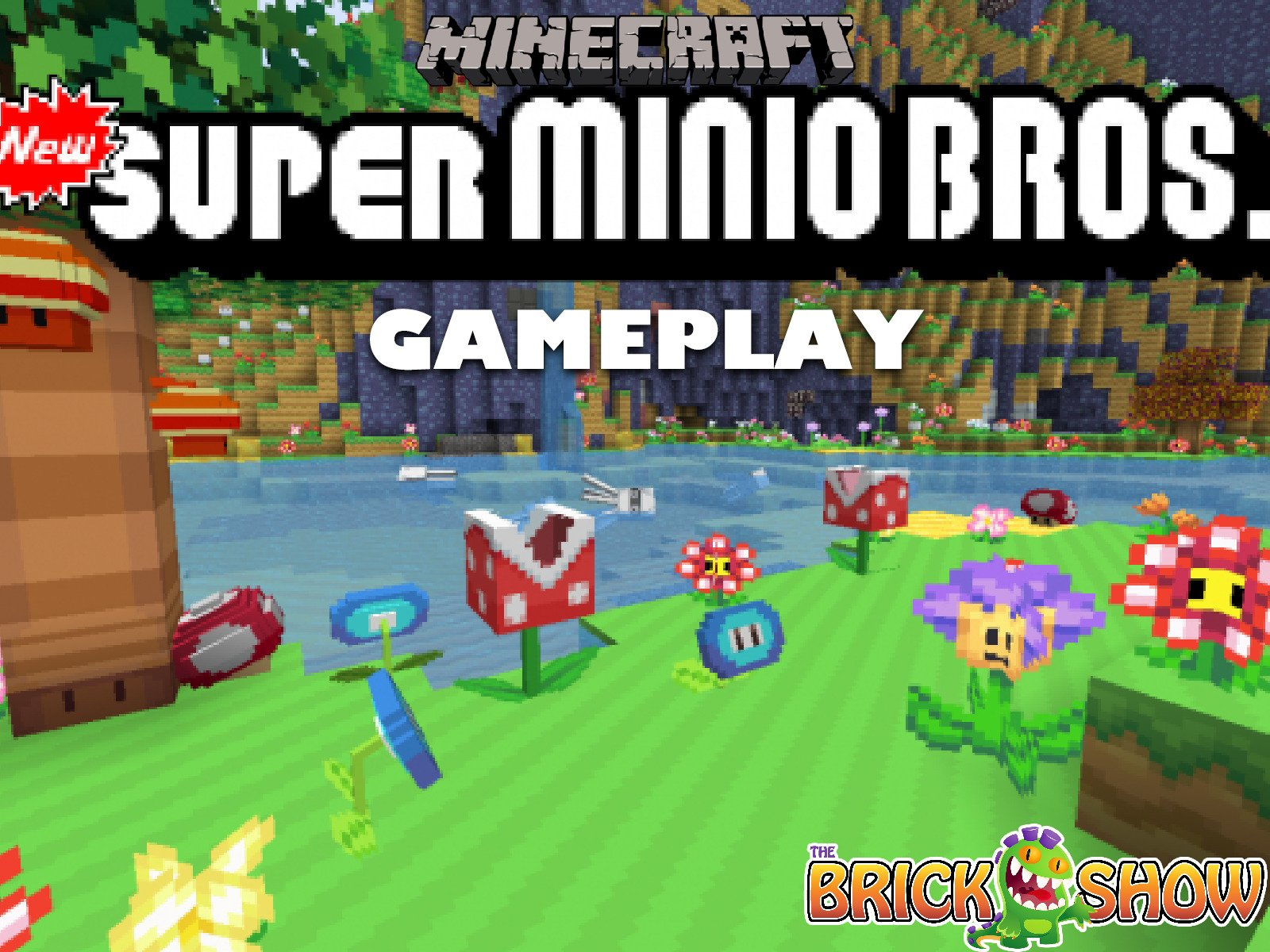 Clip: Minecraft New Super Mario Minio Bros. Gameplay