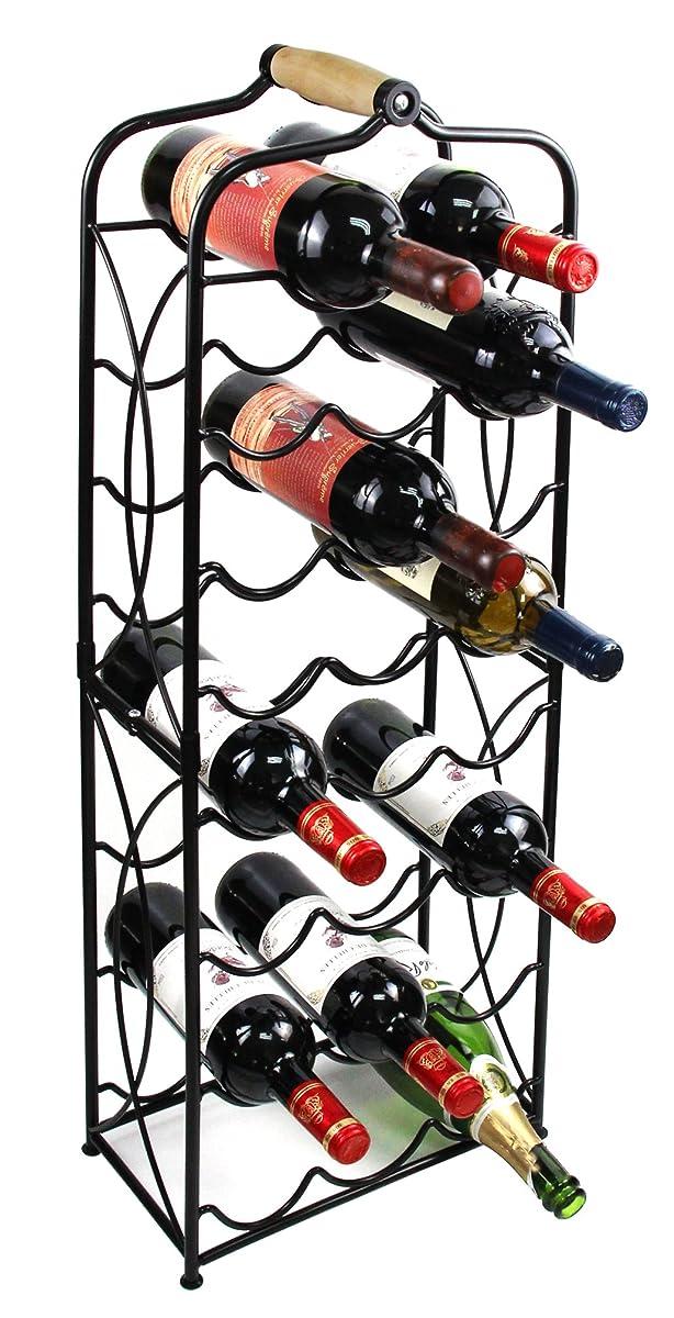 Pag 23 Bottles Free Standing Floor Metal Wine Racks Wine Storage