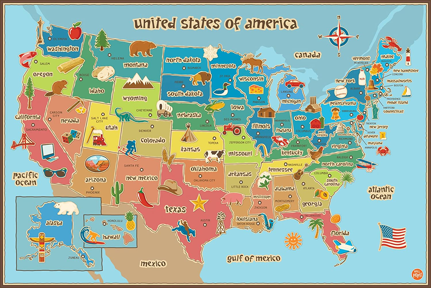 US Maps USA State Maps Maps Of Continents Maps Usa Map Chicago - Map of us during 1500