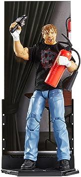 Dean Ambrose avec Entrée Chemise et Extincteur D'incendie - Série Elite 48 - WWE Figurine D'Action