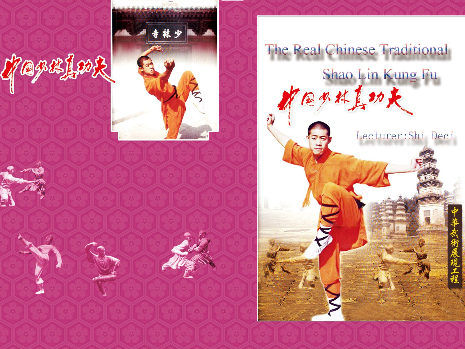 The Real Chinese Traditional Shao Lin Kung Fu(Lecturer:Shi Deci) - Season 1