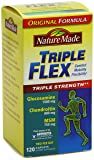 Nature Made Triple Flex, Glucosamine 1500 mg, Chondroitin 800 mg, MSM 750 mg, 120-Caplets