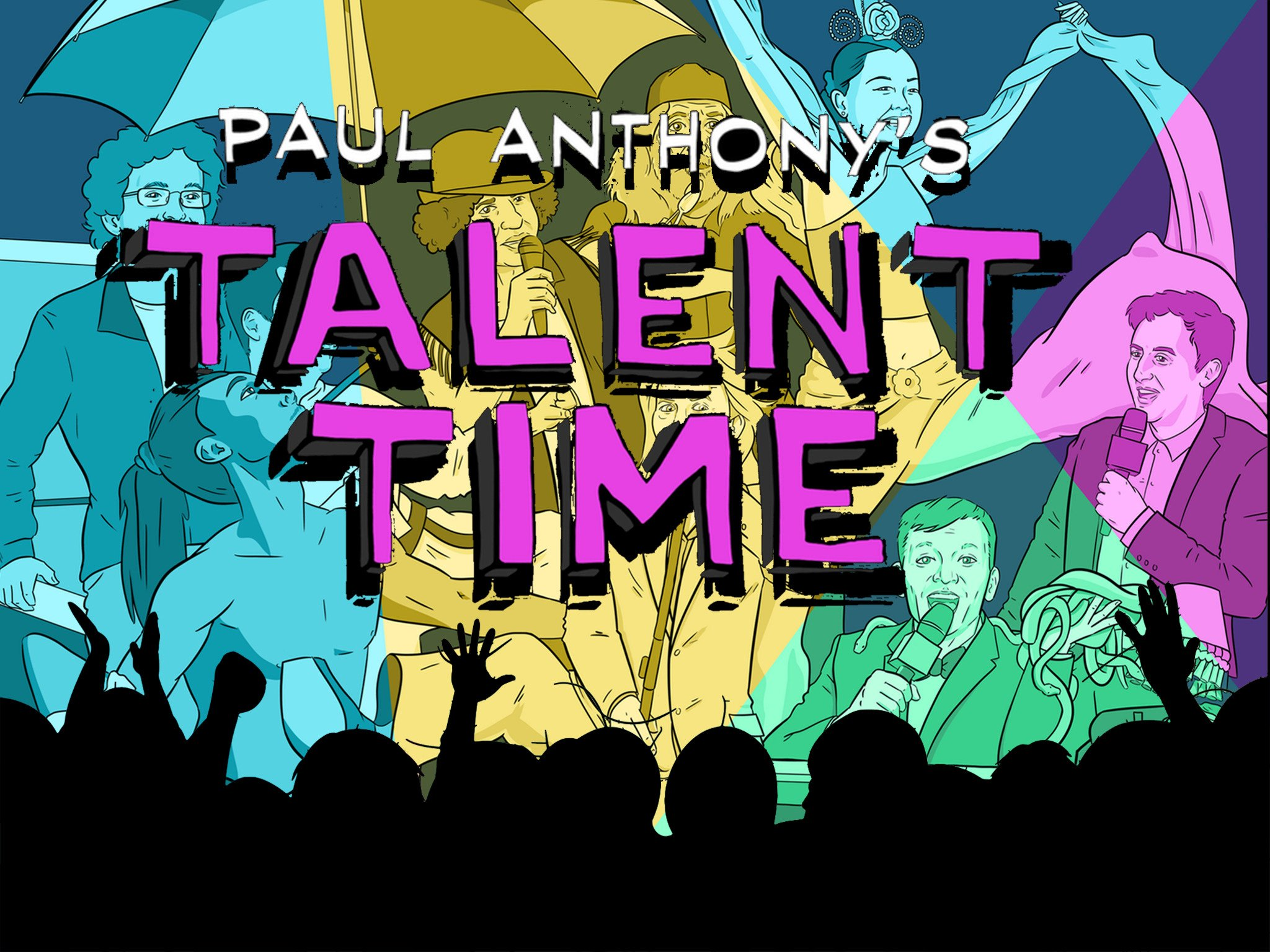Paul Anthony's Talent Time! on Amazon Prime Instant Video UK