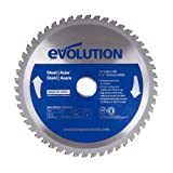 Evolution Power Tools 8-1/4BLADEST 8-1/4-Inch Steel Cutting Blade with 1-Inch Arbor (Color: Blue, Tamaño: 8-1/4 Inch)