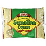 Ziyad Semolina #3 Coarse 32oz package. (Tamaño: Pack - 1)