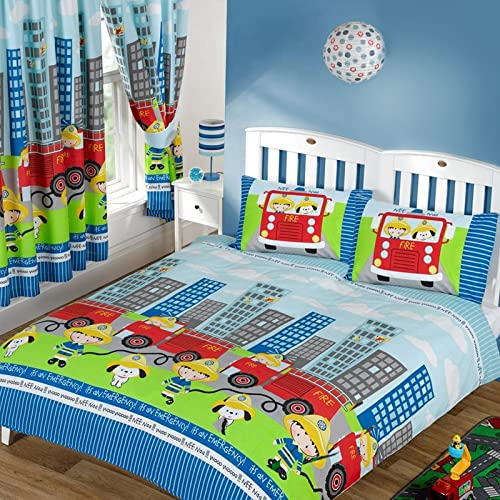 Fire Truck Bedding Tktb