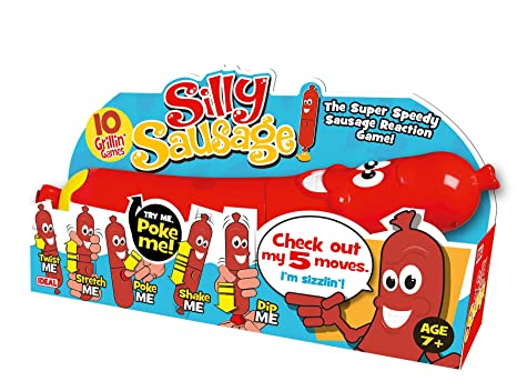 "John Adams ""Saucisse Silly Jeu (Multicolore)"