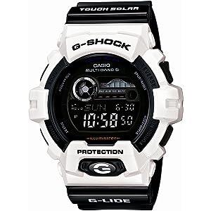 [カシオ]CASIO 腕時計 G-SHOCK ジーショック G-LIDE ジーライド タフソーラー 電波時計 MULTIBAND 6 GWX-8900B-7JF メンズ