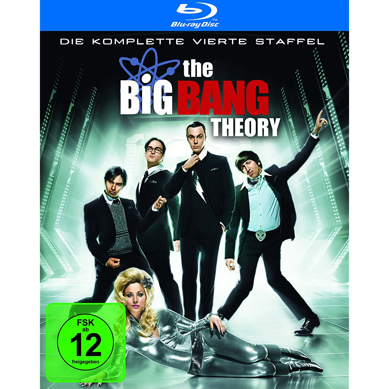 The Big Bang Theory - Die komplette vierte Staffel Blu-ray