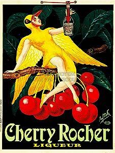 Cherry Rocher liqueur advertisement
