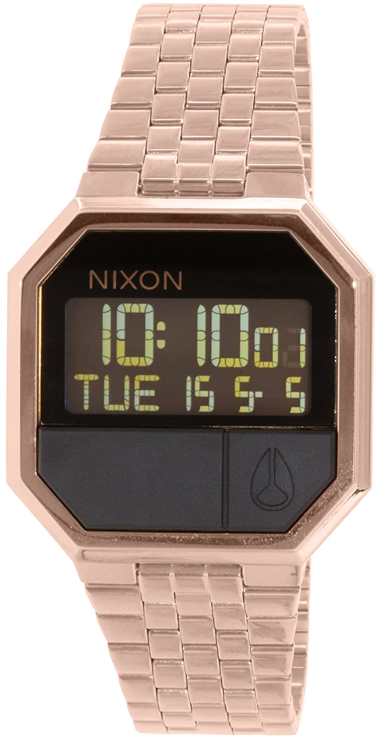 Nixon A158897 Re Run All Rose Gold Men's Watch часы nixon re run leather all black