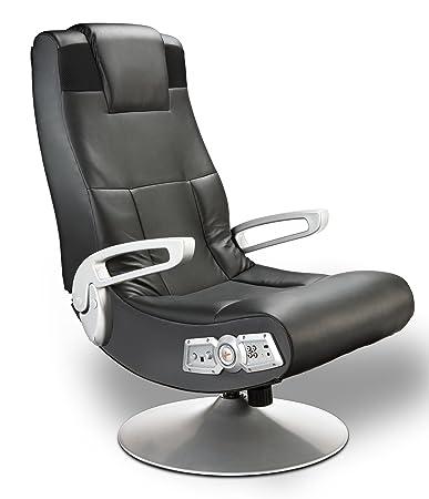 X Rocker Pedestal Video Gaming Chair, Wireless, Black Review