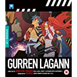 Gurren Lagann (Ep. 1-27) - 4-Disc Set ( Tengen toppa gurren lagann ) [ NON-USA FORMAT, Blu-Ray, Reg.B Import - United Kingdom ]