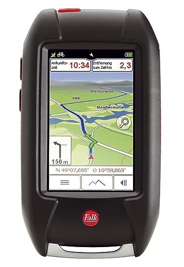 Falk 1673780000 1XX6 GPS plein air LUX 30 Edition Allemagne Noir/rouge 5 x 3 cm