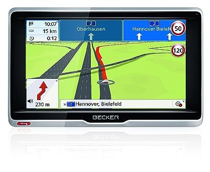 Becker 1501880000 GPS Noir, Argent, Argent