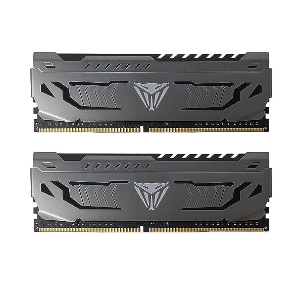 Patriot Viper Steel Series DDR4 8GB (2 x 4GB) 3200MHz Memory Kit - PVS48G320C6K (Tamaño: 8GB 3200MHz Kit (2x4GB))