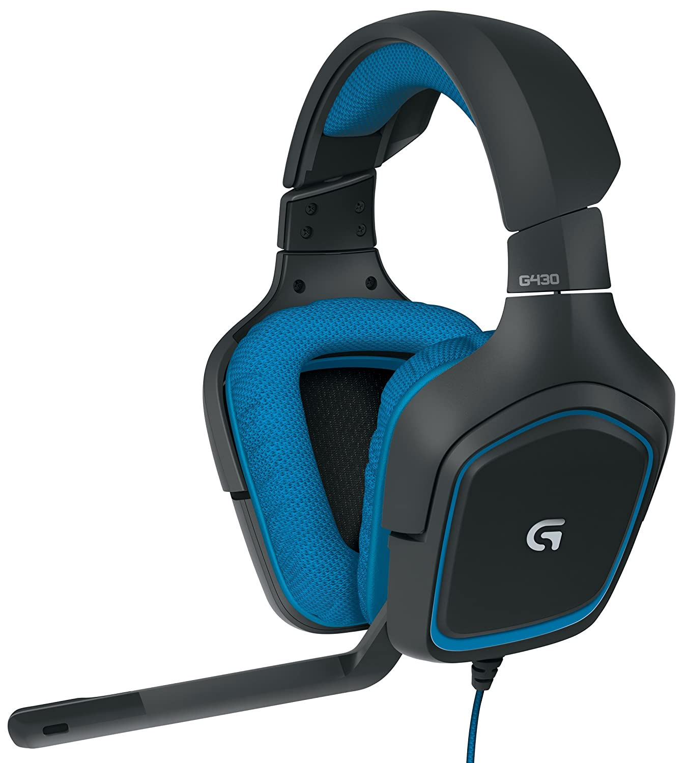 3 logitech g430 surround sound gaming headset with dolby. Black Bedroom Furniture Sets. Home Design Ideas