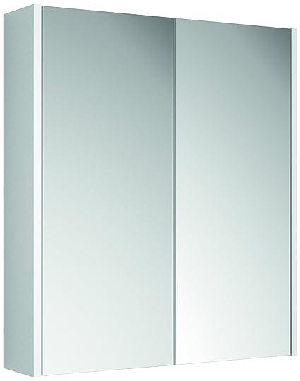 Croydex Ryton Double Door Bi-View Cabinet, White