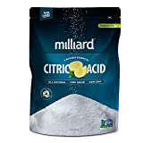 Milliard Citric Acid 10 Pound - 100% Pure Food Grade NON-GMO Project VERIFIED (10 Pound)